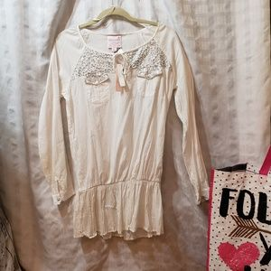 NWT retail 155 ROMEO AND JULIET BLOUSE  BOHO STYLE